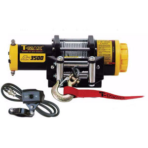 TMAEW 3500LB 12V WINCH WITH WIRE CABLE / SYNTHETIC ROPE - Winchworld