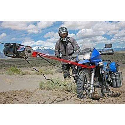 Warn 12v atv winch portable 12m synthetic rope, xt17-85700