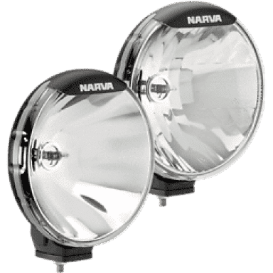 "Narva 9"" driving lights kit 12v 100w off road flood spotlights 71700 ultima 225"