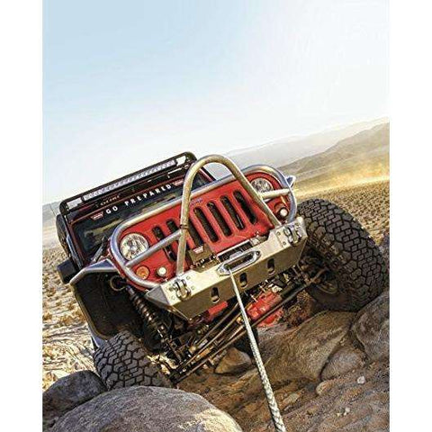 Image of Warn 12v self recovery winch 30m wire rope w/ wireless remote, 9500xdc-74700