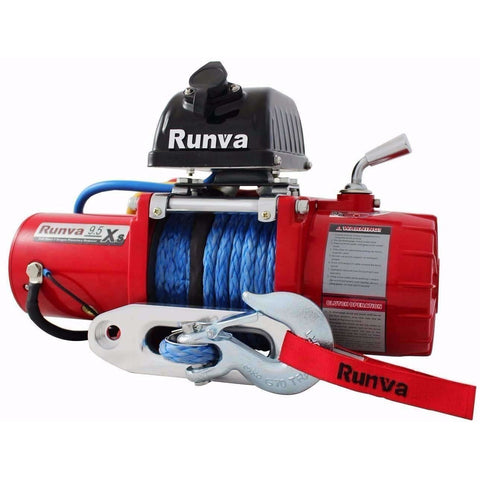 Image of Runva 9.5XS 12V with Synthetic Rope