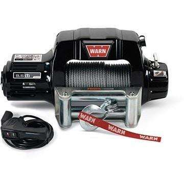 Image of Warn, 12v thermometric winch 30m wire rope w/ wireless remote, ce9500cti-95000 - Winchworld