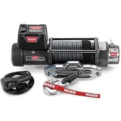 Warn, 12v self recovery winch 24m synth. Rope w/ wireless remote, ce9500xp-88850 - Winchworld