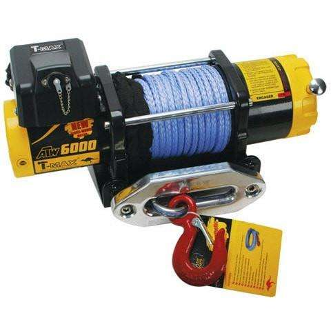 Tmax tmaew 6000lb 12v winch with wire cable / synthetic rope tmaew6000pro