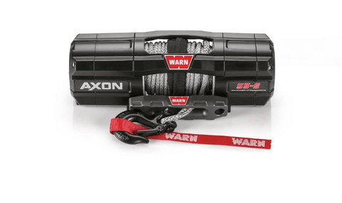 Image of Warn 12V AXON 55S Winch  15m Synthetic Rope