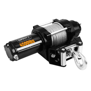 4500LBS Electric Winch ATV 4WD Steel Wire with wireless remote - Winchworld