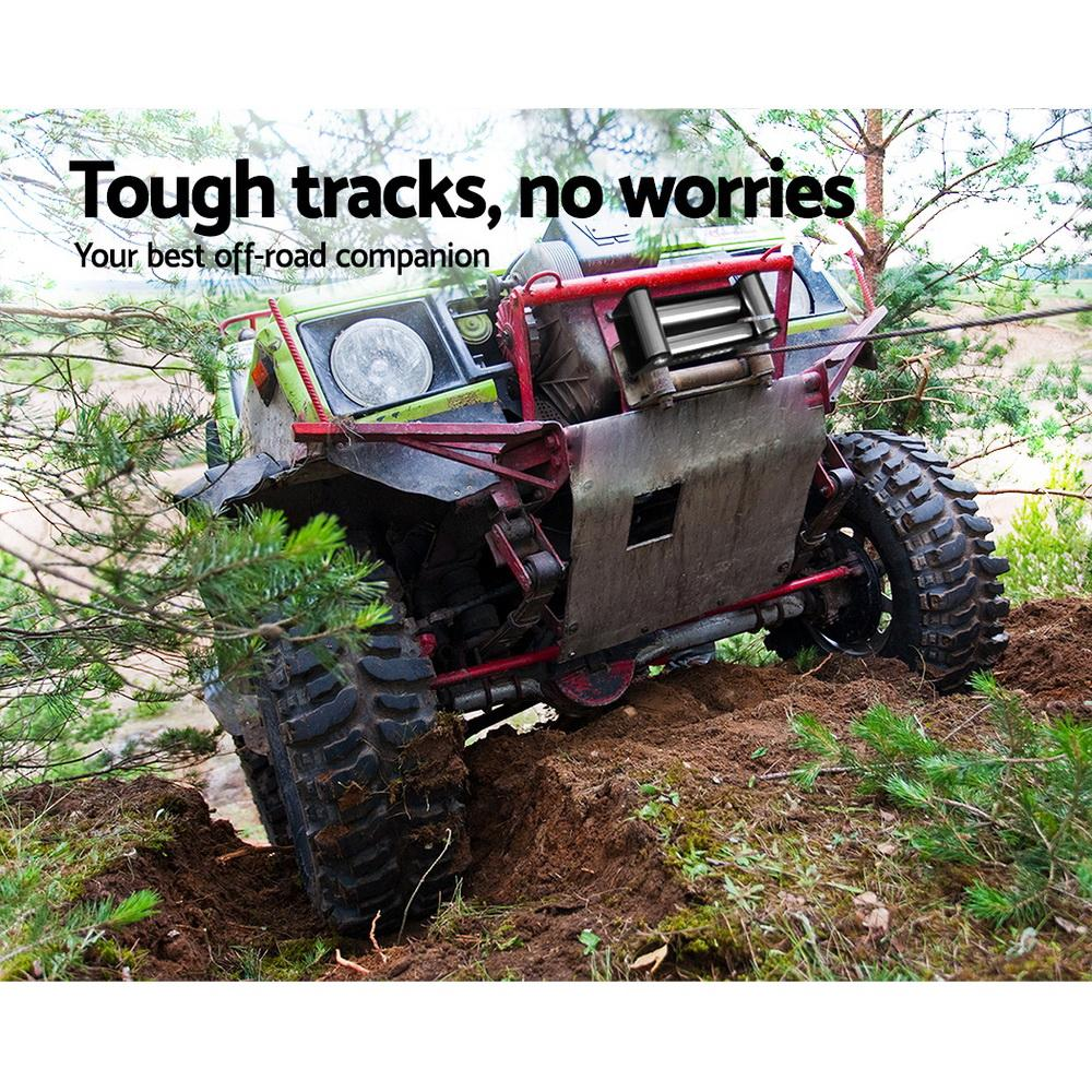 4500LBS Electric Winch ATV 4WD Steel Wire with wireless remote