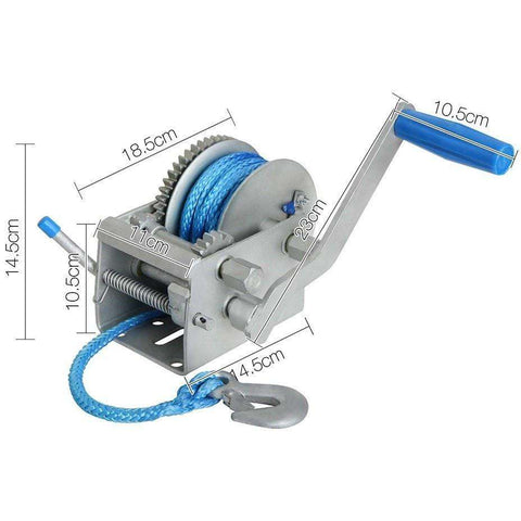 Image of Dyneema 2000kg 3 Speed Hand Winch - Winchworld