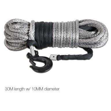 Giantz Synthetic high strength winch rope 30M - Winchworld