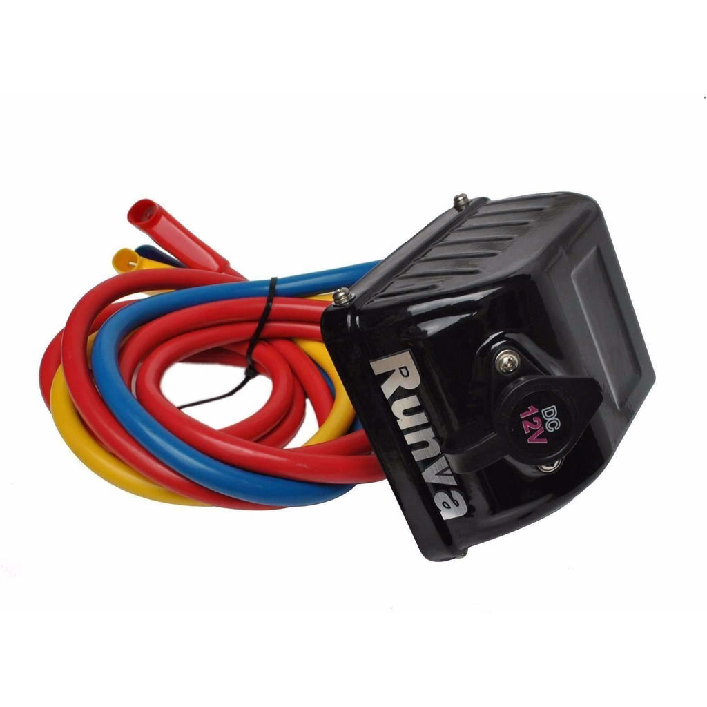 Complete 12V Control Box with Cables- Black