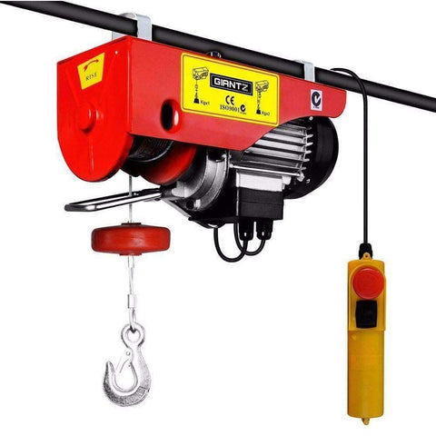 Image of Giantz Electric hoist winch 18M 1000KG - Winchworld