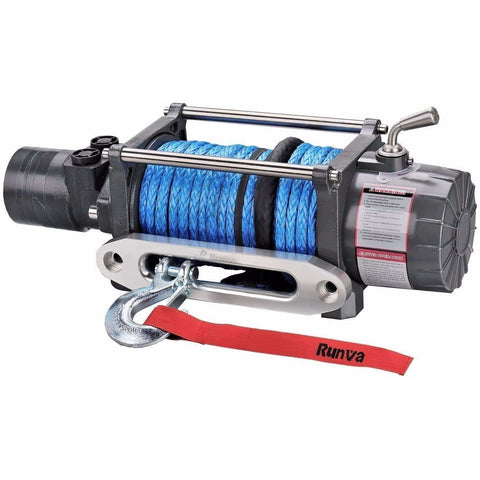 Image of Runva HWX10000 12V with Synthetic Rope