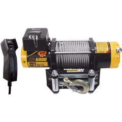 TMAEW 6000LB 12V WINCH WITH WIRE CABLE / SYNTHETIC ROPE - Winchworld