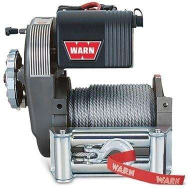 Image of Warn, 12v high mount winch 46m wire rope, cem8274-50-88631 - Winchworld