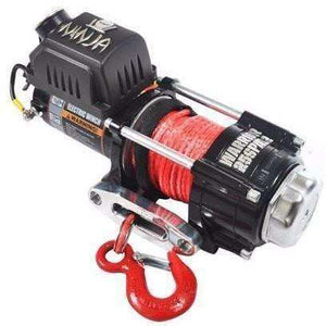 Warrior Ninja 2500 electric winch - synthetic 25SPA12 - Winchworld