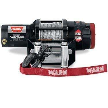 Warn, 12v atv winch 15m wire rope w/ wireless rmote, pv3500-91035 - Winchworld