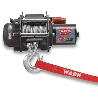 Image of Warn, 12v atv winch 15m wire rope, rt15-78000 - Winchworld