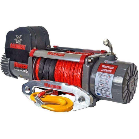 SAMURAI 12000 ELECTRIC WINCH - SYNTHETIC - Winchworld