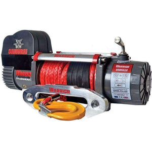 SAMURAI 9500 HIGH SPEED ELECTRIC WINCH - SYNTHETIC - Winchworld