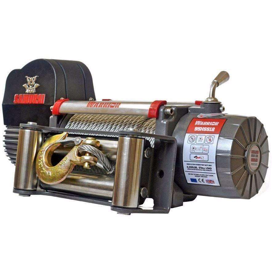 Copy of SAMURAI 9500 ELECTRIC WINCH - SYNTHETIC - Winchworld