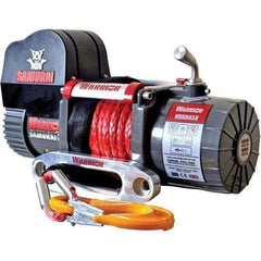 SAMURAI 9500 SHORT DRUM ELECTRIC WINCH - SYNTHETIC - Winchworld