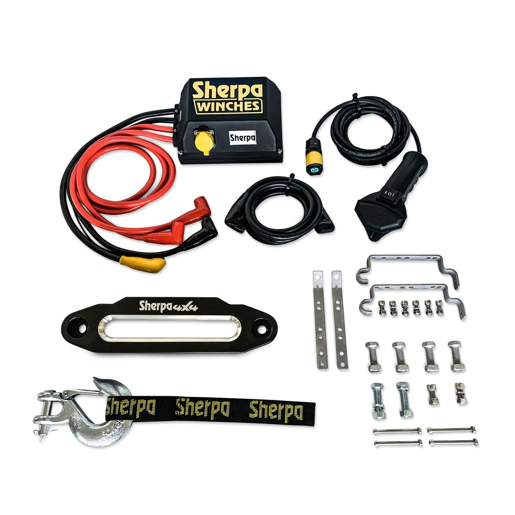 Sherpa 4X4 Stallion 25000 lb Electric Winch
