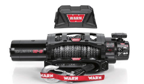 Image of Warn 12V Self Recovery Winch 27m Synthetic Rope 12K-S-97055