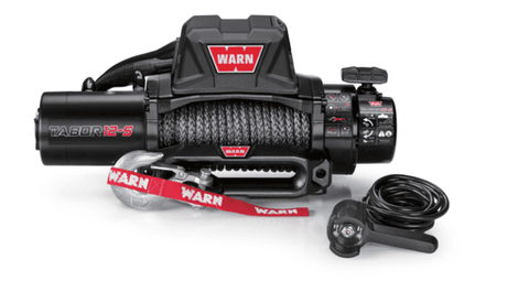 Warn 12V Self Recovery Winch 27m Synthetic Rope 12K-S-97055