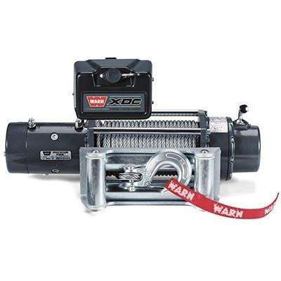 Warn, 12v self recovery winch 30m wire rope w/ wireless remote, 9500xdc-74700 - Winchworld