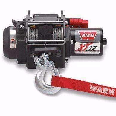 Warn, 12v atv winch portable 12m synthetic rope, xt17-85700 - Winchworld