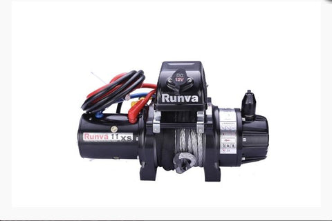 Runva 11XS Premium 12V with Synthetic Rope