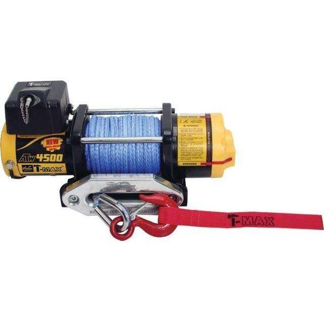 TMAEW 4500LB 12V WINCH WITH WIRE CABLE / SYNTHETIC ROPE - Winchworld