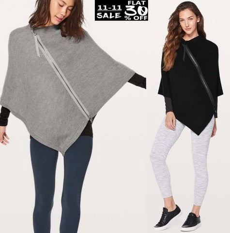 Pack Of 2 Zipper Poncho