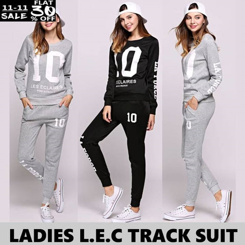 LADIES L.E.C TRACK SUIT