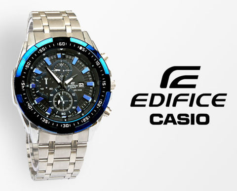 Edifice Casio Black Wrist Watch