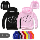 PACK OF 2 UNI CORN PRINTED KIDS HOODIES