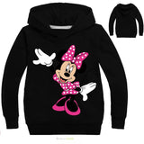Pack of 2 Mickey Mouse Printed Kids Hoodies for Girls (Print 201)
