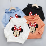 PACK OF 2 MICKEY MOUSE PRINTED KIDS HOODIES FOR GIRLS (Print 202)