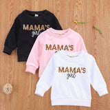 PACK OF 2 PRINTED KIDS SWEAT SHIRTS (MAMA'S GIRL)