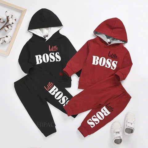 Little Boss Track Suit for Boys (Print 104)