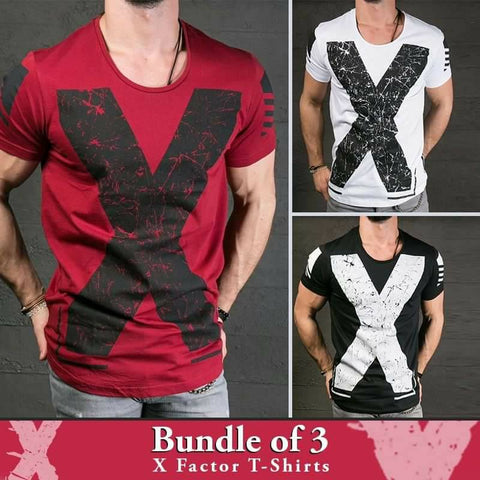 Bundle of 3 X-Factor T-Shirts