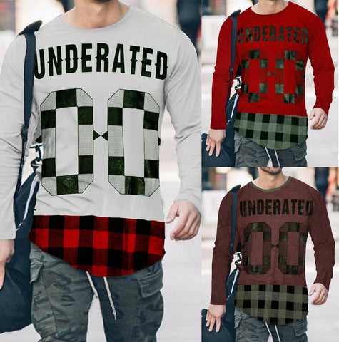 Pack of 3 UNDERATED 0-0 Printed T-Shirts