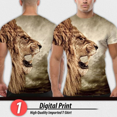 DIGITAL PRINT HIGH QUALITY IMPORTED T-SHIRT (CODE: PB-1613)