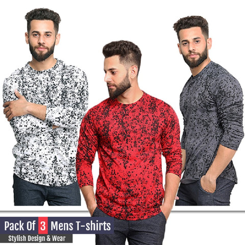 Pack of 3 RWG Printed T-Shirts