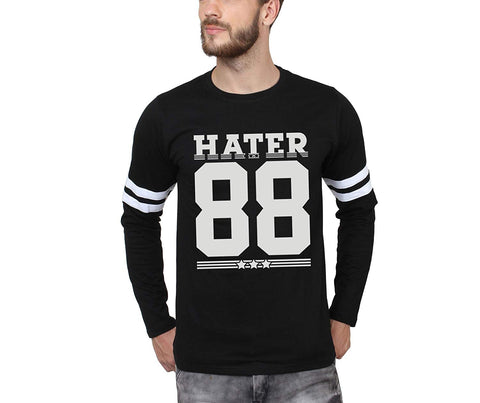 HATERS 88 PLAIN T-SHIRT FULL SLEEVE