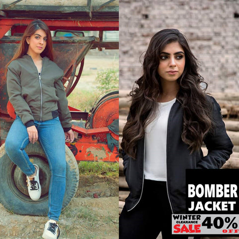 BOMBER JACKET ( WINTER CLEARANCE SALE )