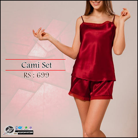Silk Cami Set Deal