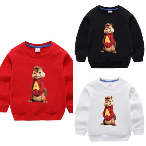 PACK OF 3 PRINTED KIDS SWEAT SHIRTS FOR BOYS (Print 104)