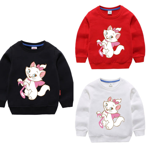 PACK OF 3 PRINTED KIDS SWEAT SHIRTS FOR GIRLS (Print 204)