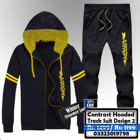 CONTRAST HOODED TRACK SUIT DESIGN-2
